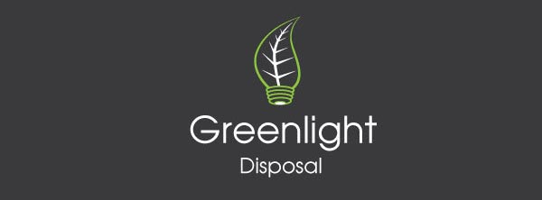 Greenlight DIsposal Logo design