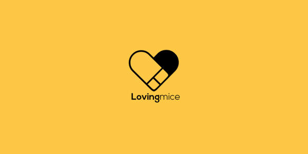 Loving mice – Logo