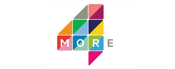 More4 Rebrand Logo