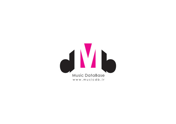 Music database – db music Logo design