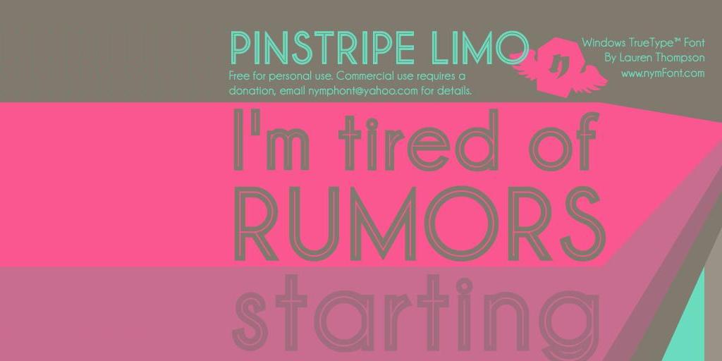 Pinstripe Limo