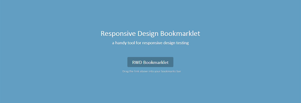 RWD Bookmarklet