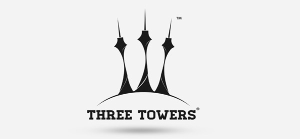 Three Towers Brand Identity